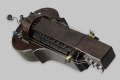 Black MM Instrument Saphona hurdy gurdy
