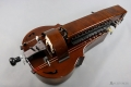 Dark brown MM Instrument Saphona hurdy gurdy
